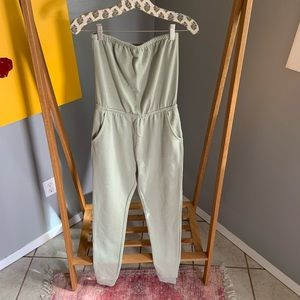 Strapless Forever 21 Jumpsuit